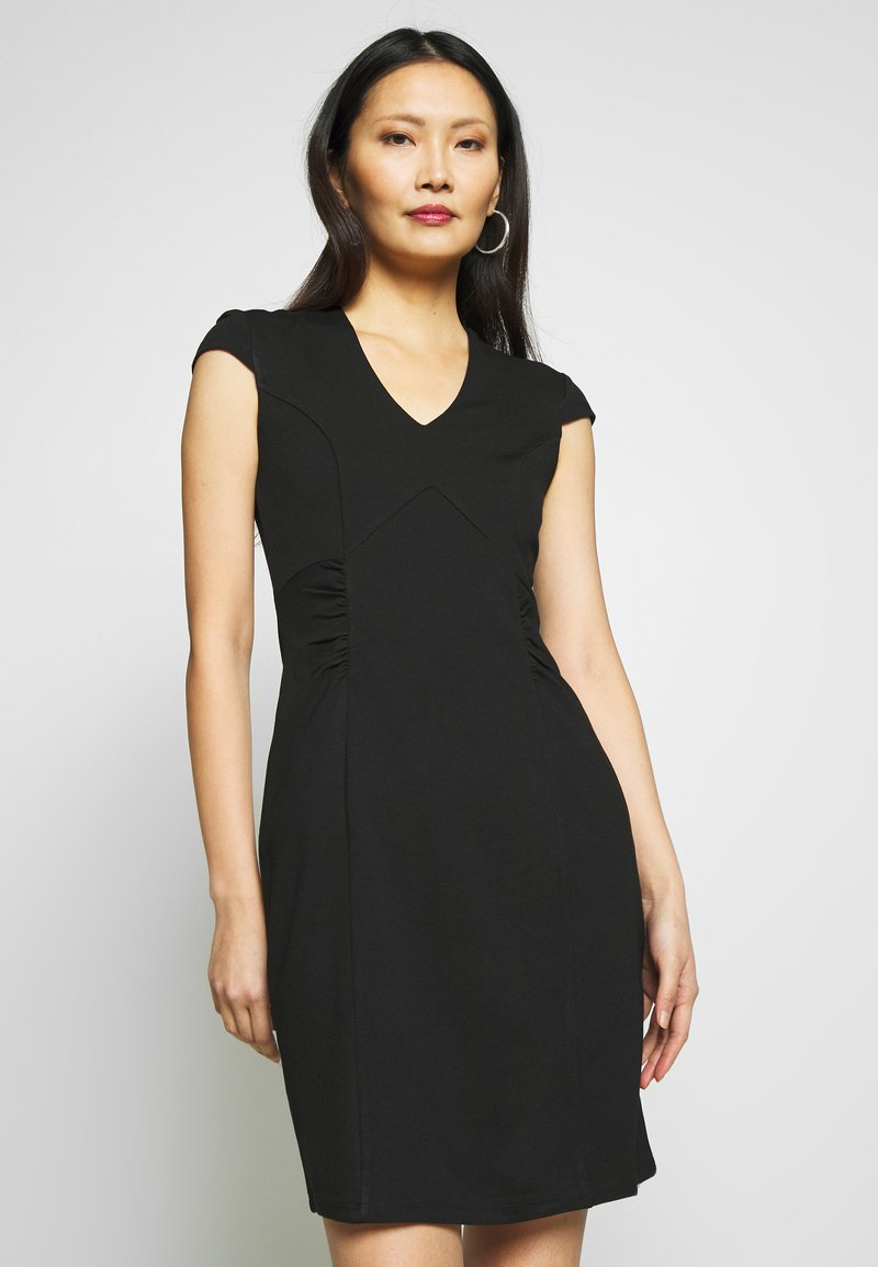Anna Field - BASIC  - Robe fourreau - black