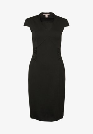BASIC  - Shift dress - black