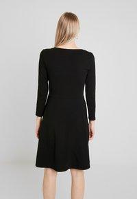 Anna Field - ETUIKLEID BASIC - Pouzdrové šaty - black - 2