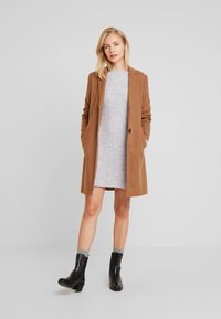 Anna Field - Gebreide jurk - light grey marl