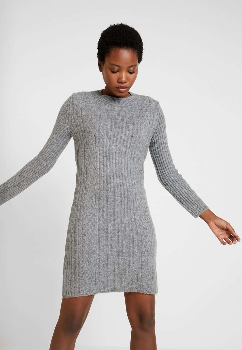Anna Field - Jumper dress - dark grey marl