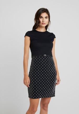 Shift dress - dark blue/blue