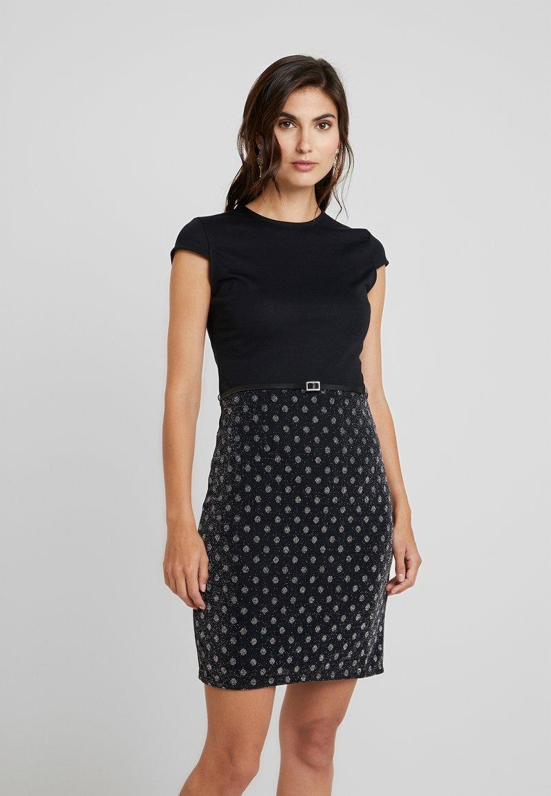Anna Field - Shift dress - dark blue/blue