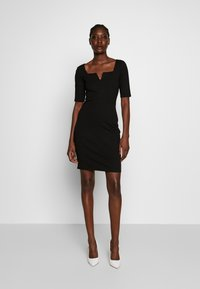 Anna Field - BASIC - Shift dress - black - 0