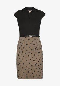 Anna Field - Shift dress - beige/black - 3