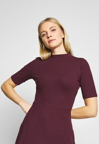 Anna Field - BASIC - Jersey dress - winetasting - 3