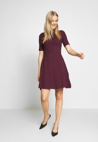 Anna Field - BASIC - Jersey dress - winetasting - 1