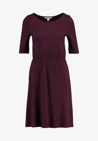 Anna Field - BASIC  - Jersey dress - winetasting - 3