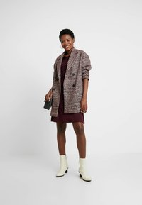 Anna Field - BASIC  - Jersey dress - winetasting - 1
