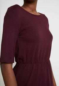 Anna Field - BASIC  - Jersey dress - winetasting - 4