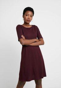 Anna Field - BASIC  - Jersey dress - winetasting - 0