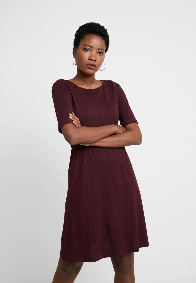 Anna Field - BASIC  - Jersey dress - winetasting