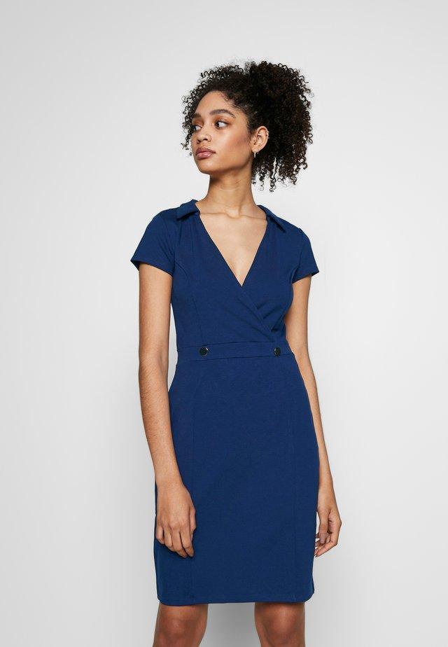 BASIC - Shift dress - maritime blue