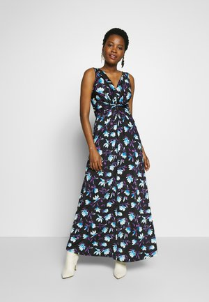 Maxi dress - black/blue