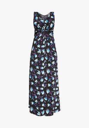 Vestido largo - black/blue