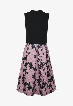 SLEEVELESS SKIRT - Cocktailjurk - rose/black