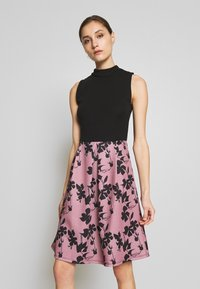 Anna Field - SLEEVELESS SKIRT - Juhlamekko - rose/black - 0