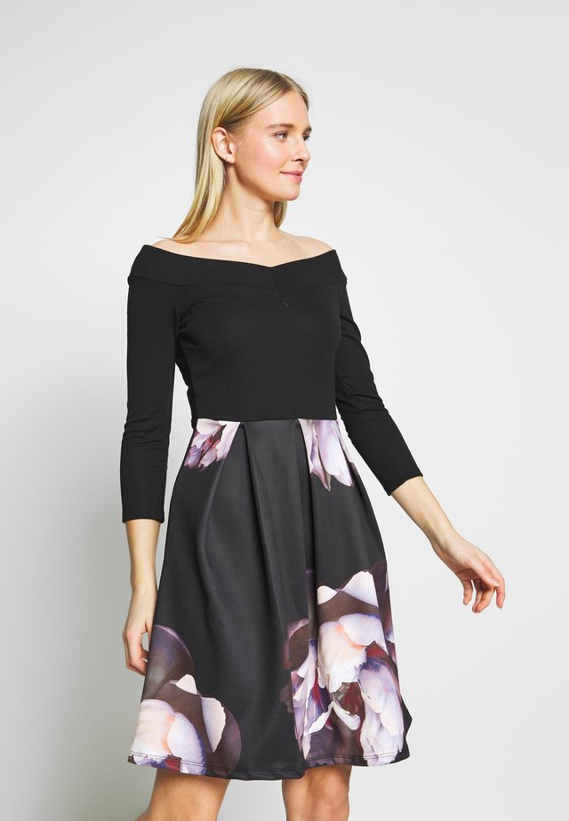 Cocktail dress / Party dress - multi-coloured