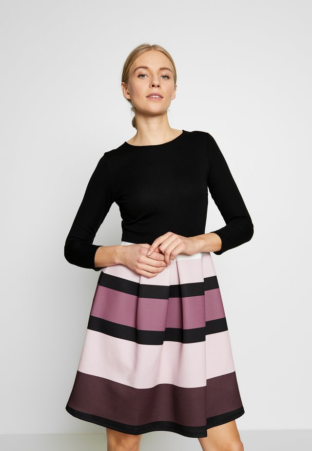 Cocktail dress / Party dress - black/rose