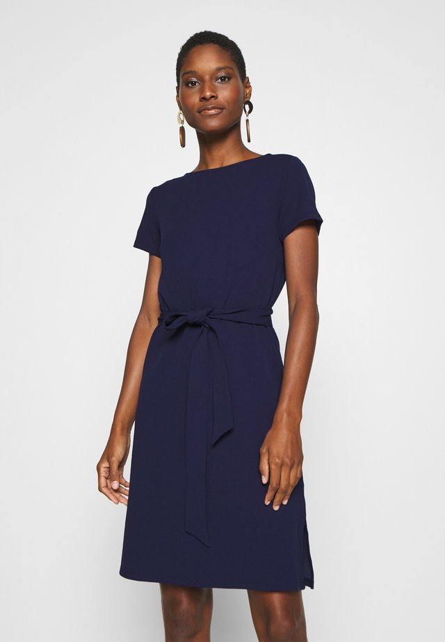 Shift dress - evening blue