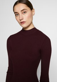 Anna Field - BASIC - Strikket kjole - winetasting - 3
