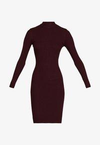 Anna Field - BASIC - Strikket kjole - winetasting - 4