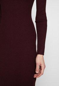 Anna Field - BASIC - Strikket kjole - winetasting - 5