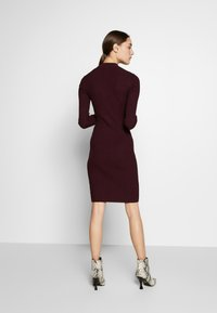 Anna Field - BASIC - Strikket kjole - winetasting - 2