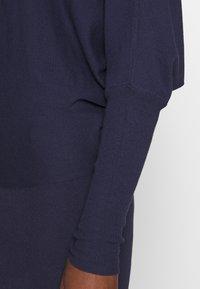 Anna Field - BASIC STRICKKLEID - Jumper dress - dark blue - 5