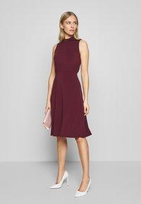 Anna Field - Jersey dress - winetasting - 1
