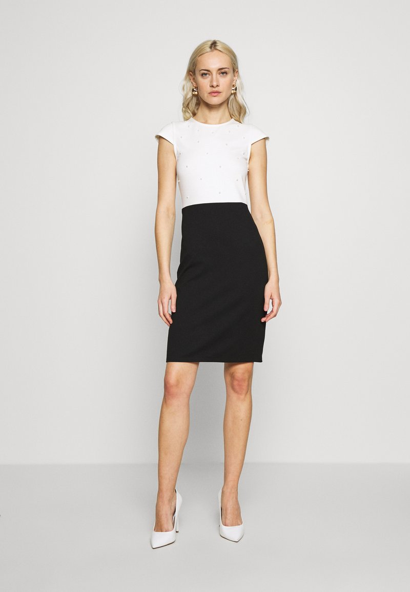 Anna Field - Cocktail dress / Party dress - white/black