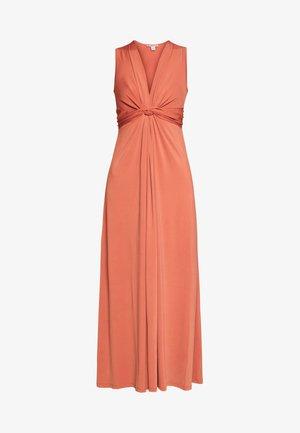 BASIC - FRONT KNOT MAXI DRESS - Maxi šaty - bruschetta