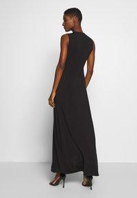 Anna Field - BASIC - FRONT KNOT MAXI DRESS - Maxi dress - black - 2