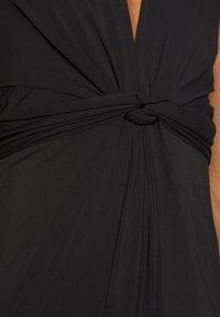 Anna Field - BASIC - FRONT KNOT MAXI DRESS - Maxi-jurk - black - 5