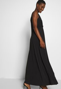 Anna Field - BASIC - FRONT KNOT MAXI DRESS - Maxi-jurk - black - 3