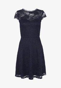 Anna Field - ALL OVER LACE DRESS FIT AND FLARE - Koktejlové šaty/ šaty na párty - evening blue - 4
