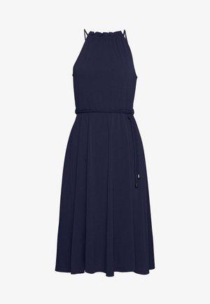 BASIC JERSEYKLEID - Vestido ligero - maritime blue