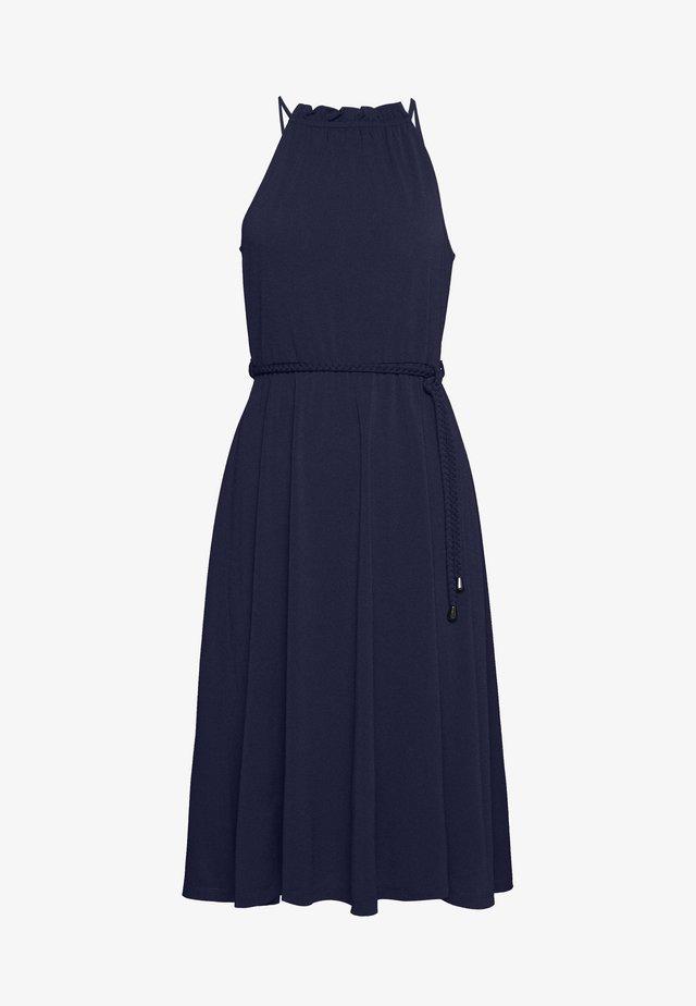 BASIC JERSEYKLEID - Žerzejové šaty - maritime blue