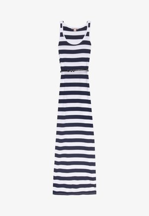 Maxi dress - white/maritime blue