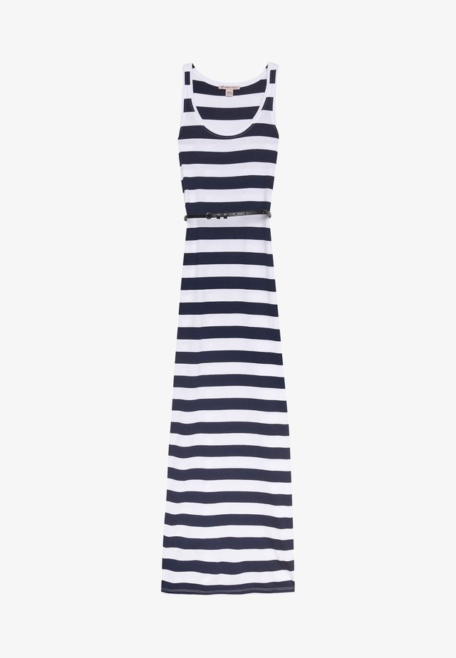 Maxi dress - white/maritime blue