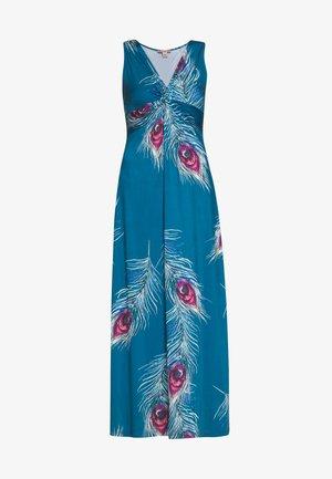 Maxikjole - turquoise
