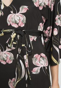 Anna Field - Robe longue - black / rose - 5