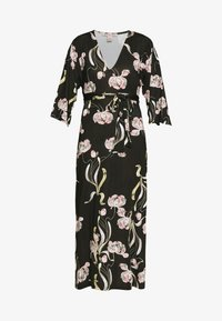 Anna Field - Robe longue - black / rose
