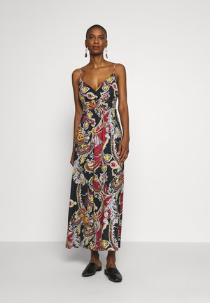 Maxi dress - black/red