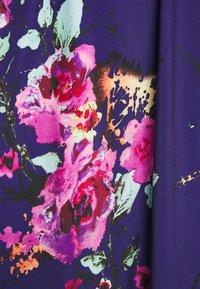 Anna Field - Jersey dress - pink/blue - 6