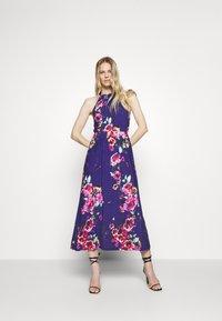 Anna Field - Jersey dress - pink/blue - 1