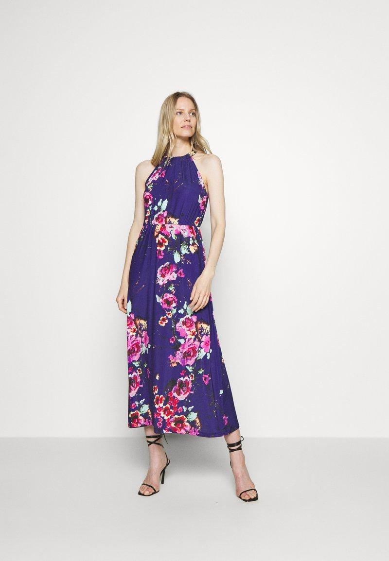 Anna Field - Jersey dress - pink/blue
