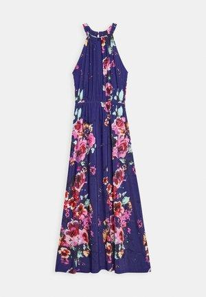 Žerzejové šaty - pink/blue