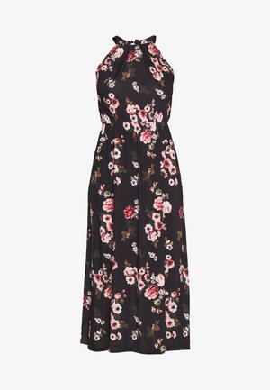 Jerseykleid - black/rose