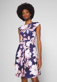 Anna Field - Jersey dress - dark blue/rose - 0